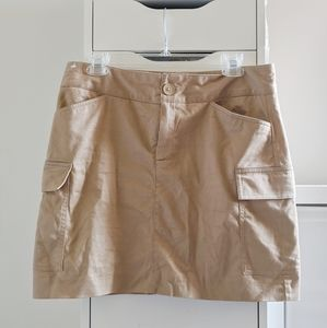 BEIGE BANANA REPUBLIC DRESS SKIRT